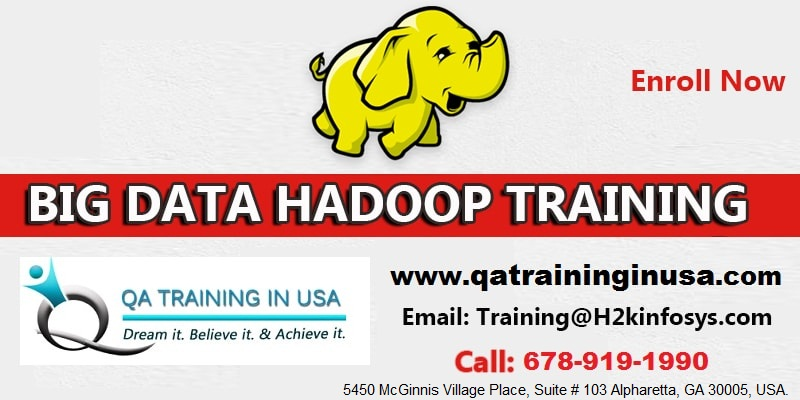 BIG DATA Online Classes  Training in USA