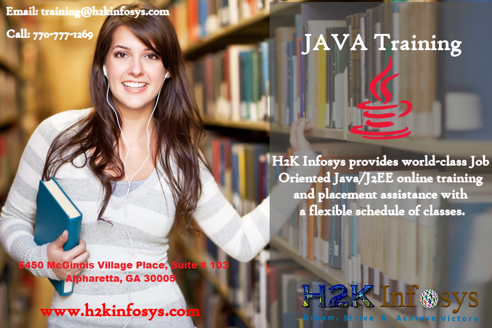 Java Online Training with Real time Projects in US