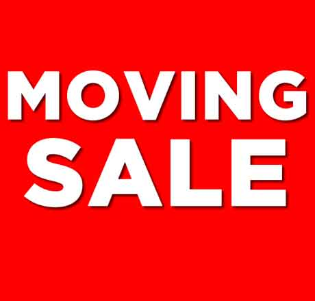 Moving out selling furniture