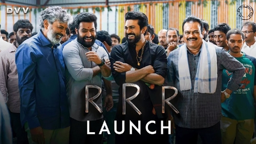 rrr launch video