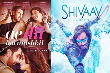 Ae Dil Hai Mushkil and Shivaay Four Days Collections
