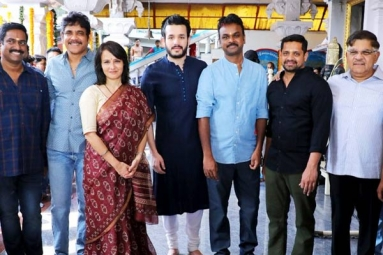 Akhil's Fourth Film Launched