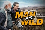 Narendra Modi with Bear Grylls in 'Man vs Wild' Tonight
