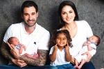 Sunny Leone adopts two baby boys