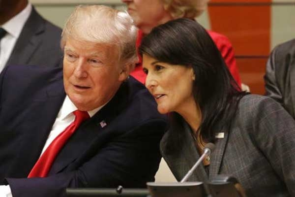 Nikki Haley Going to Make a Lot of Money, Says Trump